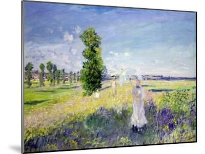 The Walk, circa 1872-75-Claude Monet-Mounted Giclee Print