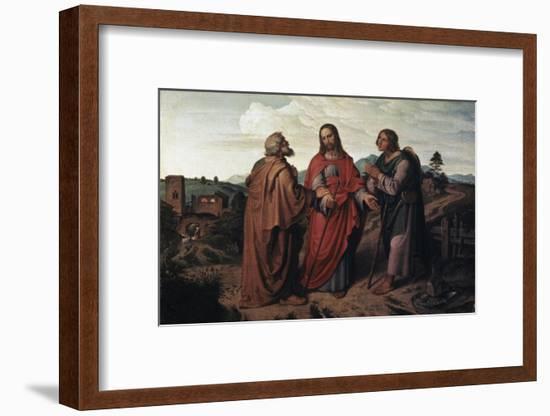 The Walk to Emmaus-Joseph Feuhrich-Framed Giclee Print
