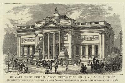 The Walker Fine Art Gallery at Liverpool, Presented by the Late Sir a B Walker to the City--Giclee Print