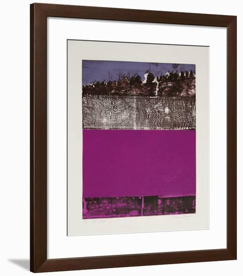The Wall-Elaine Breiger-Framed Limited Edition