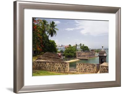 The Walled City Old San Juan Puerto Rico-George Oze-Framed Photographic Print