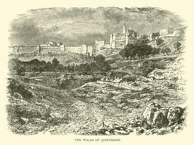 The Walls of Jerusalem--Giclee Print