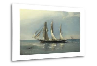 The Wanderer Refitted by Captain Richard Brydges Beechey