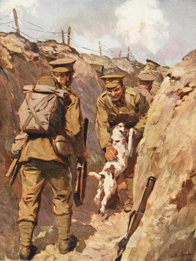 The Wanderer Sprang Towards His Master with Delight--Giclee Print