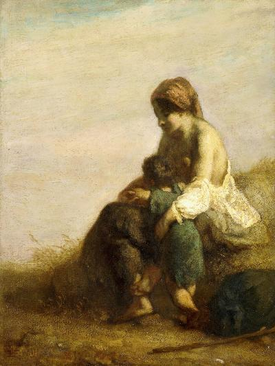 The Wanderers-Jean-Fran?ois Millet-Giclee Print