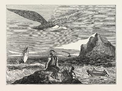The Wandering Albatross--Giclee Print