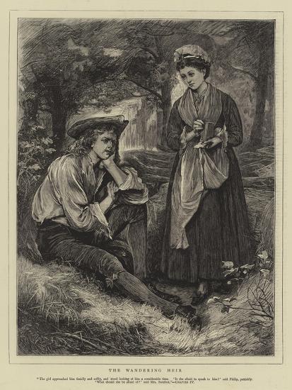 The Wandering Heir-Henry Woods-Giclee Print