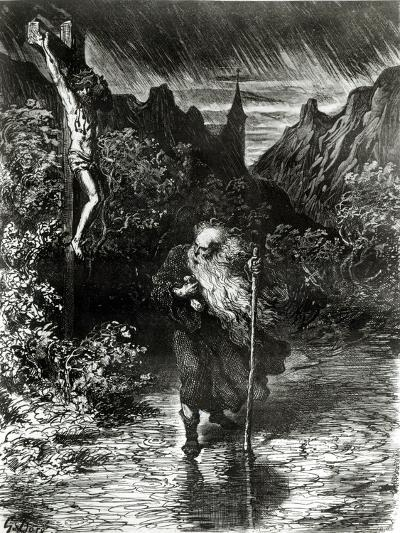 The Wandering Jew-Gustave Dor?-Giclee Print
