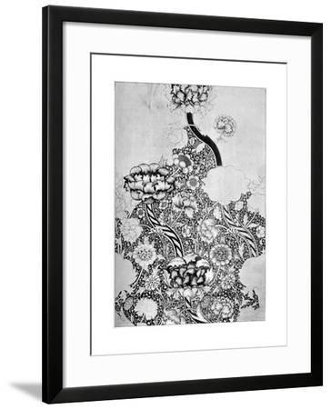 The 'Wandle' Pattern Printed on Cotton, 1884-William Morris-Framed Giclee Print