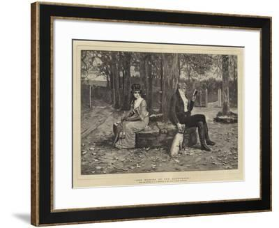 The Waning of the Honeymoon-George Henry Boughton-Framed Giclee Print