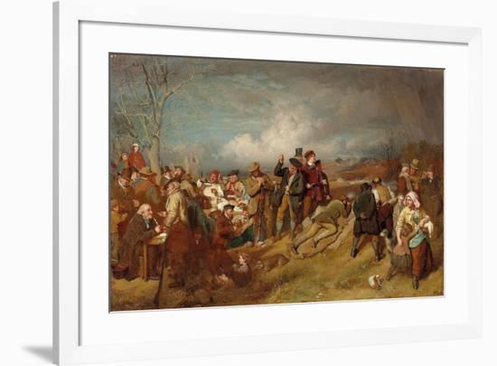 The Wappenshaw: a Shooting Match-John Faed-Framed Giclee Print