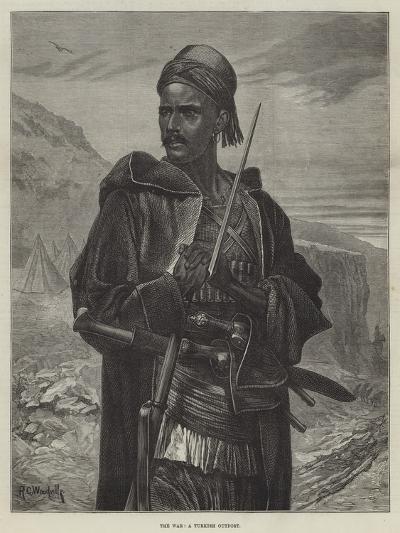The War, a Turkish Outpost-Richard Caton Woodville II-Giclee Print