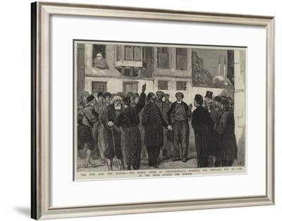 The War and the Eclipse-Joseph Nash-Framed Giclee Print