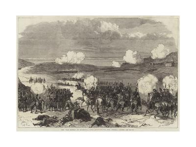 The War, Battle of Blumenau, Near Presburg--Giclee Print