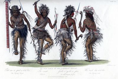 The War Dance, by the Ojibbeway Indians, 1848-Harris-Giclee Print