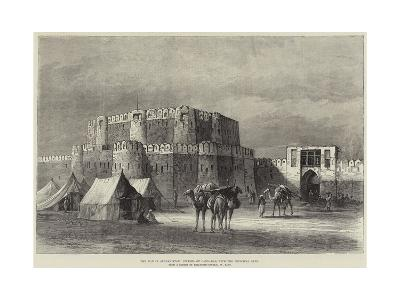 The War in Afghanistan, Citadel of Candahar, with the Principal Gate--Giclee Print