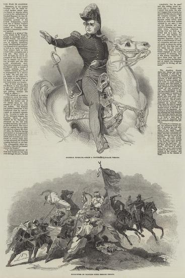The War in Algeria-Antoine Charles Horace Vernet-Giclee Print