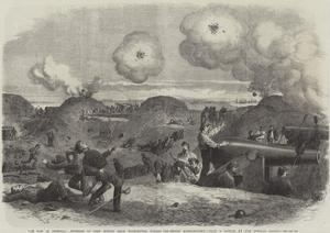 The War in America, Interior of Fort Fisher, Near Wilmington, During the Second Bombardment