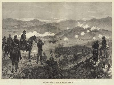 The War in Armenia, Battle of Kizil-Tepe, 25 August-Richard Caton Woodville II-Giclee Print