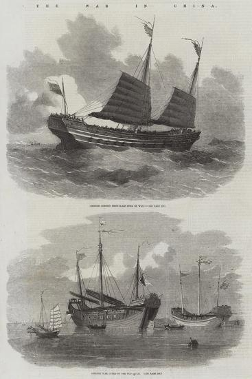 The War in China-Edwin Weedon-Giclee Print