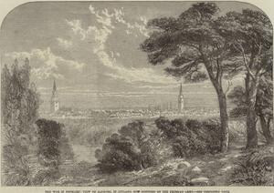 The War in Denmark, View of Aalborg, in Jutland, Now Occupied by the Prussian Army