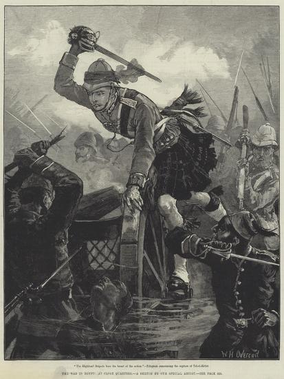 The War in Egypt, at Close Quarters-William Heysham Overend-Giclee Print
