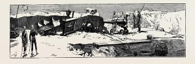 The War in Egypt, Fort Mex, Alexandria: the South-West Corner of the Fort--Giclee Print