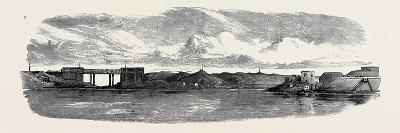 The War in Egypt: the Aboukir Forts; Railway Bridge on the Alexandria and Rosetta Line--Giclee Print