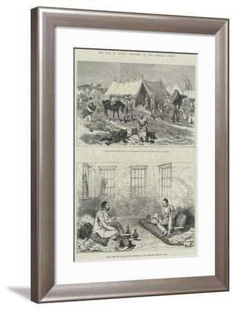 The War in Egypt-Alfred Courbould-Framed Giclee Print