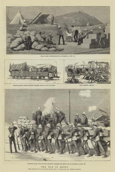 The War in Egypt-Henry Marriott Paget-Giclee Print