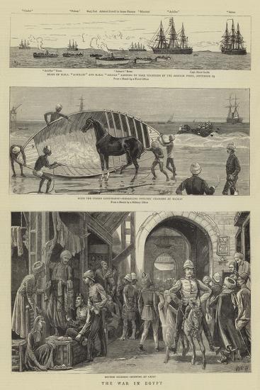 The War in Egypt-William Lionel Wyllie-Giclee Print