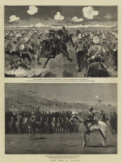 The War in Egypt--Giclee Print