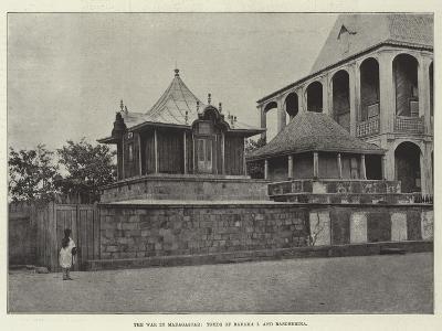 The War in Madagascar, Tombs of Radama I and Rasoherina--Giclee Print
