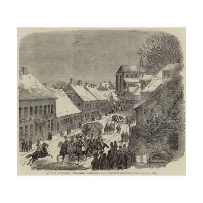 The War in Schleswig, High-Street, Hadersleben--Giclee Print