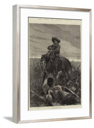 The War in South Africa-Richard Caton Woodville II-Framed Giclee Print
