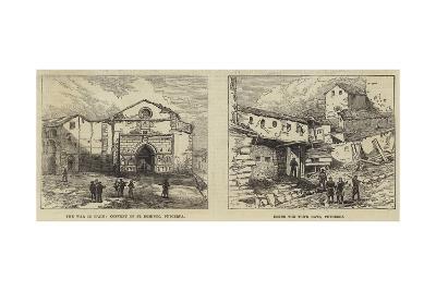 The War in Spain--Giclee Print