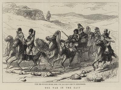The War in the East--Giclee Print