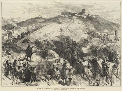 The War in the Herzegovina, Storming of the Fortress of Palanka by the Insurgents-Charles Robinson-Giclee Print