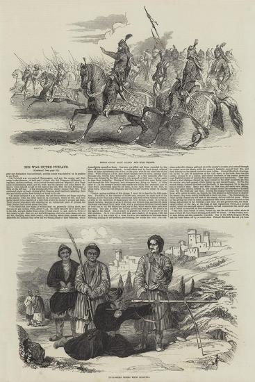 The War in the Punjaub--Giclee Print