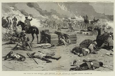 The War in the Soudan, the Repulse of the Attack on Baker's Zeriba, 22 March-Charles Edwin Fripp-Giclee Print