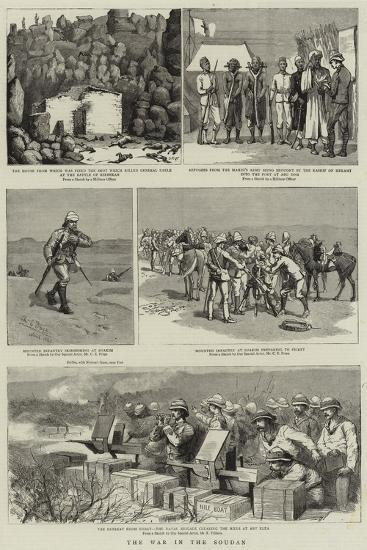 The War in the Soudan--Giclee Print