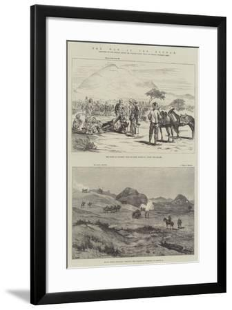 The War in the Soudan--Framed Giclee Print