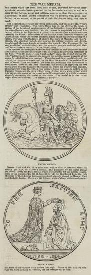 The War Medals--Giclee Print