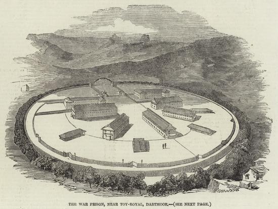 The War Prison, Near Toy-Royal, Dartmoor--Giclee Print