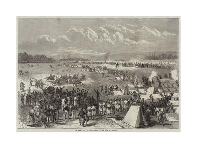 The War, Visit of the Emperor to the Camp at Chalons-Jules Pelcoq-Giclee Print