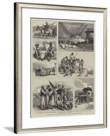 The War with the Jowakis, North-Western India--Framed Giclee Print