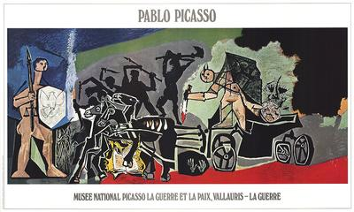 The War-Pablo Picasso-Lithograph