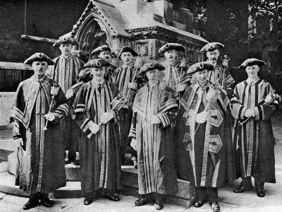 The Ward Beadles, Guildhall, London, 1926-1927--Giclee Print