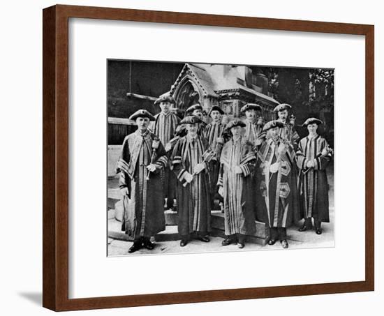 The Ward Beadles, Guildhall, London, 1926-1927--Framed Giclee Print