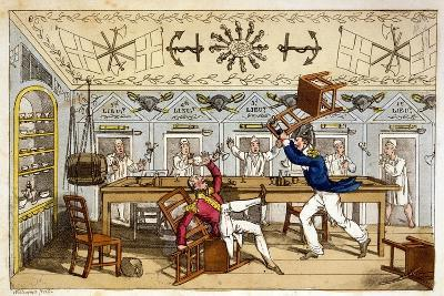 The Ward Room: Newcome and Capt. Clackett-Charles Williams-Giclee Print